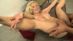 The nasty teacher humps the hungriest blond witch in the world