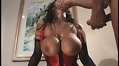 Always hot Asian Milf Ava Devine in an action packed threesome and DP