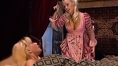 Banging hot blonde hussy gets fucked hard in a period piece porno