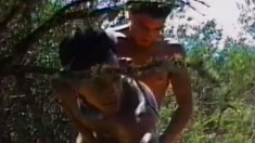 Jim Payne makes horny homosexual black boy William Grail his bitch