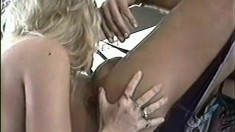 The hunk in the sex swing is calling Erika Mellow to come get some hot sex