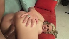 Stacked Sara Vandella Embarks On Her First Experience With A Dark Stud