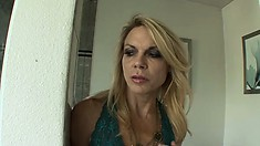 Sexy blonde lesbians Delilah Blue and Alexa Styles take care of each other's needs