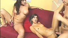 Sex ed lesson number one starts today for young Jerri and her naughty mom Claudia