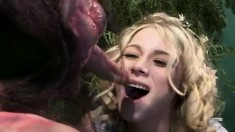 Twist On A Movie, Whore Of The Rings Stars Katie Morgan Doing What She Does Best