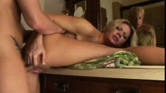 Christina Skye is banging that guy as if she's doing it for the first time