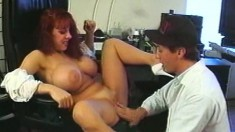 Huge breasted housewife Whitney has a hot affair with a younger guy