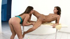 Seductive Masseuse Brings Her Exciting Lesbian Fantasies To Fruition