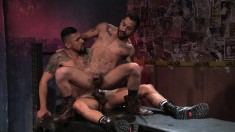 Wild Gay Boy Wants Nothing More Than His Lover's Cock Plowing His Ass