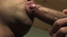 Horny hunks Donny Wright and Micah Brandt jam each other's mouths and asses with their cocks