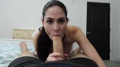 Extreme amateur pov blowjob with big dicks