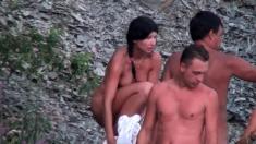 Amateur girls voyeur penetrating in public place