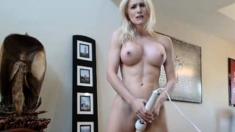 Blonde Webcam Goddess 28 - Another Hitachi Orgasm