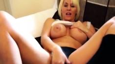 hot stepmom masturbates