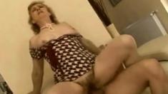 Granny Enjoys Hard Fucking