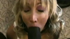 Interracial Group Sex With Black Cocks And Blonde Slut