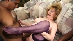 Hot Threesome Anal Old Vs Young Encounter